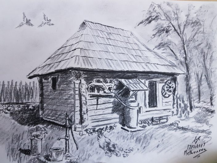 House Drawing Melbourne